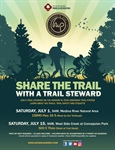 Share the  Trail with a Trail Steward