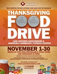 SA Parks & Recreation Holiday Food Drive