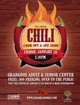 9th Annual Chili Cook Off and Art Show