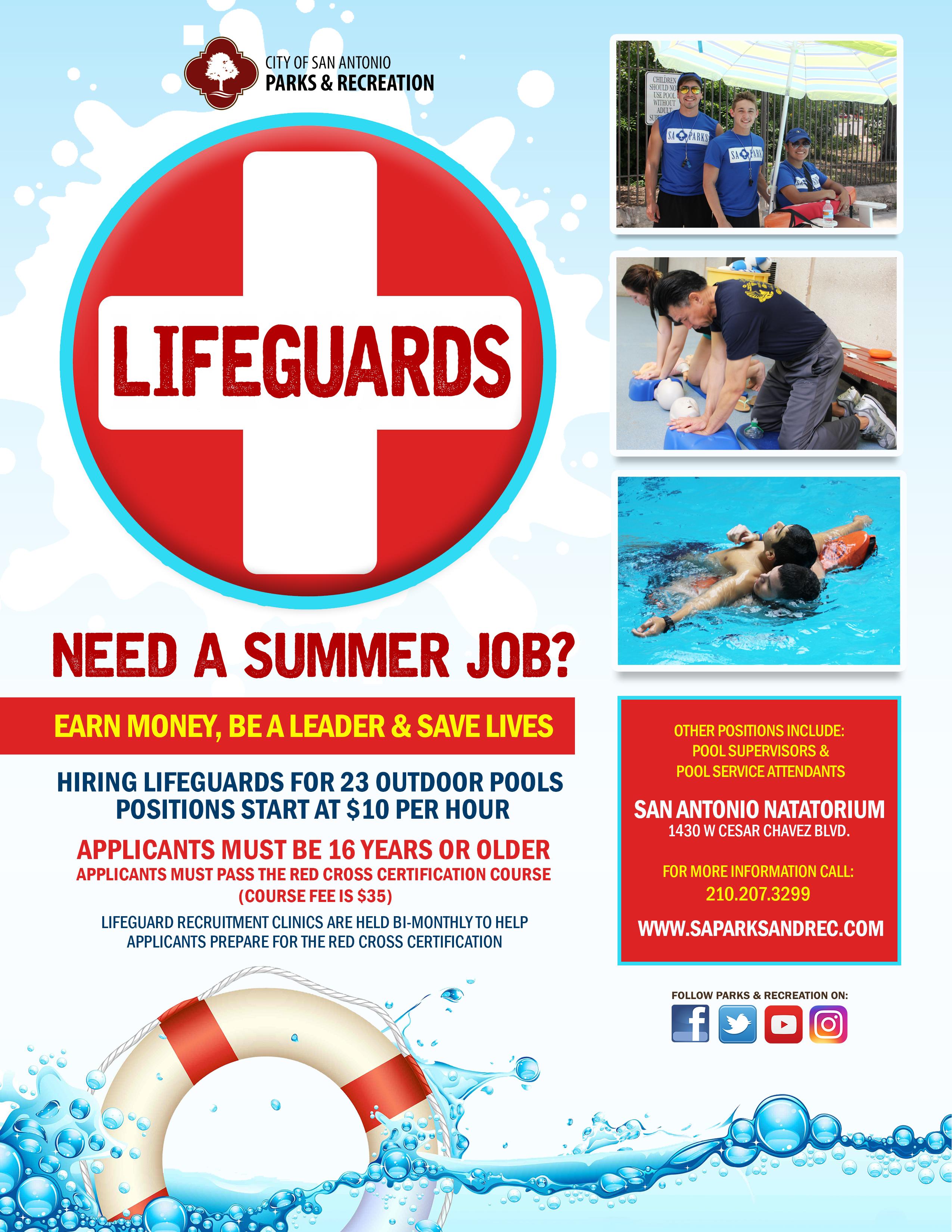 Lifeguard Recruitment Events The City Of San Antonio