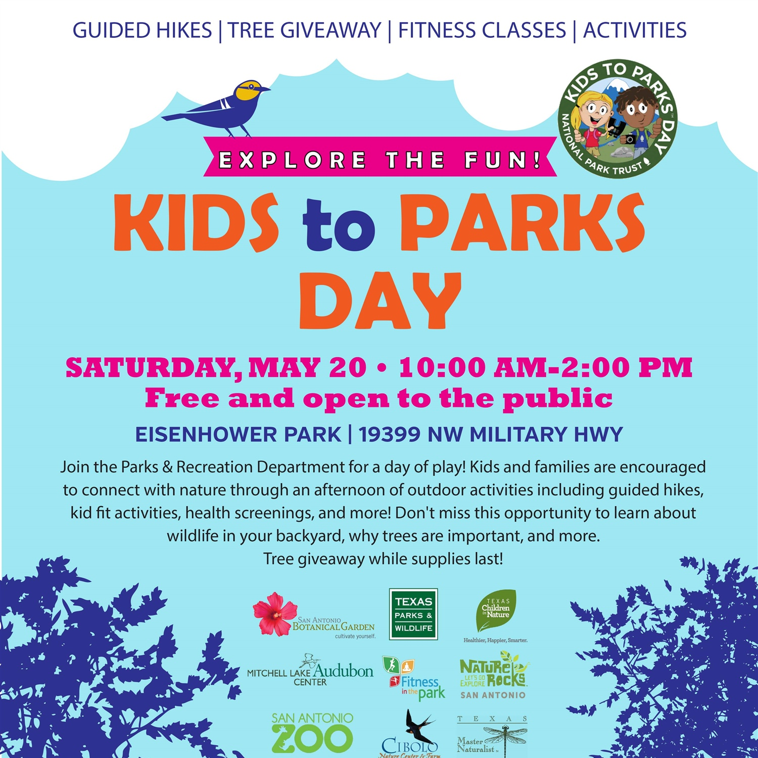 kids to parks day the city of san antonio official city website