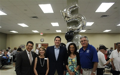Alicia Trevino Lopez Senior Center 5th Anniversary