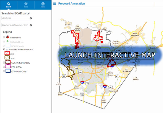 Proposed Annexation Interactive Map