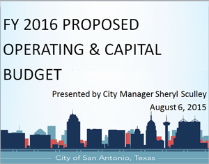 FY 2016 - Proposed Budget Presentation