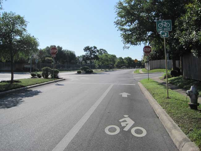 Bikes San Antonio Bicycle Lanes