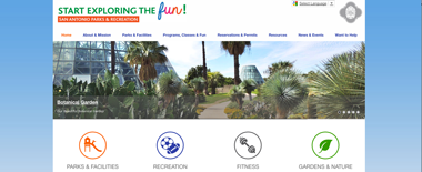 Parks & Recreation launches new site