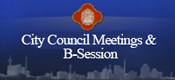 Live Council Meeings & B-Session