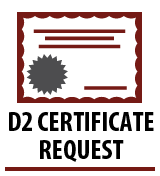 Certificate Request
