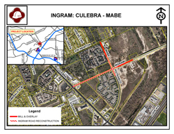Ingram Road (Culebra Road to Mabe Road) Project