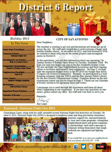 2015 Holiday Newsletter