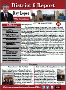 District 6 Newsletter - Fall 2014