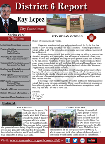 District 6 Newsletter - Spring 2014