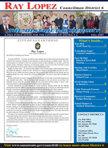 District 6 Newsletter - Fall 2009