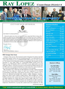 District 6 Newsletter - Spring 2010