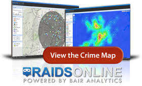 RAIDS Online Crime Map