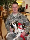 service dog and handler