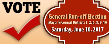 General Run-off Election - June 10, 2017
