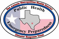 Official logo of the Metro Health PHEP program