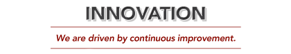 Core Values: Innovation