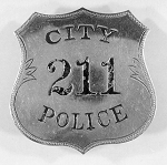 Early Police Badge