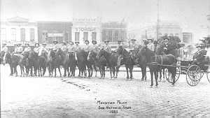 SAPD Mounted Patrol in 1903