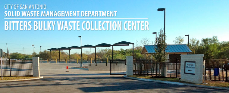 Bulky Waste Collection Center