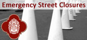 Emergency Street Closures