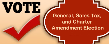 General, Charter Amendment, and Special Sales Tax Election