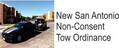 Non Consent Towing Ordinance