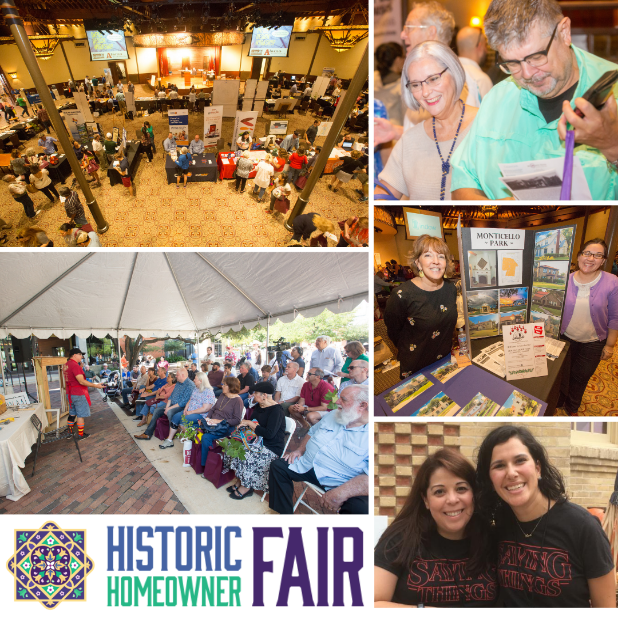 Historic Homeowner Fair collage of attendees