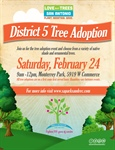 District 5 Tree Adoption