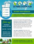 SA Parks System Plan (Public Meeting)