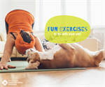 Fun Exercises to do with Your Pet!