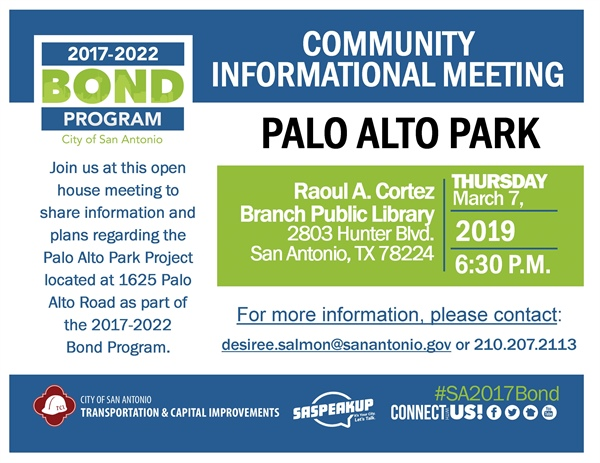 Review project plans and information for Palo Alto Park