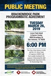 Brackenridge Park Programmatic Agreement Public Meeting