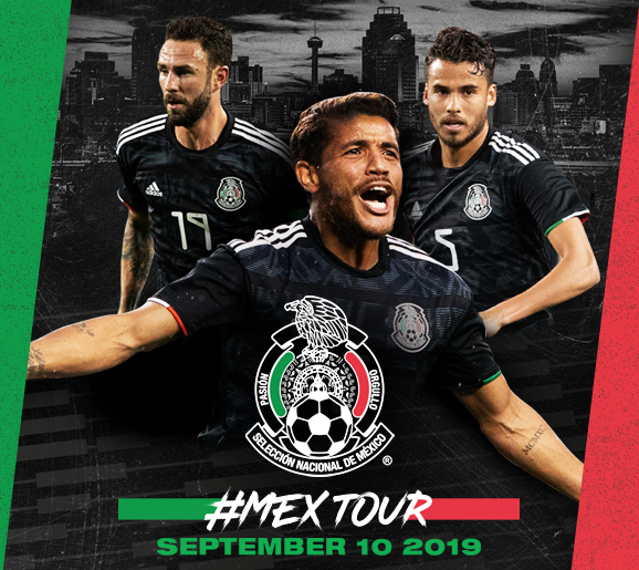 Mexican National Team Tour 2019