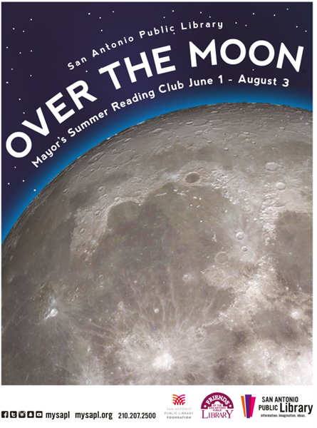 Mayor's Summer Reading Club: Over the Moon