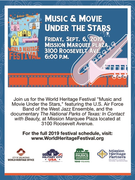 World Heritage Festival's Music and Movie Under the Stars