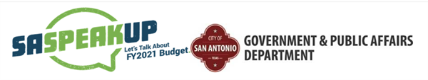 City of San Antonio FY 2021 budget survey closes this Friday, July 31