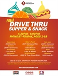 Free Supper & Snack Drive Thru Service