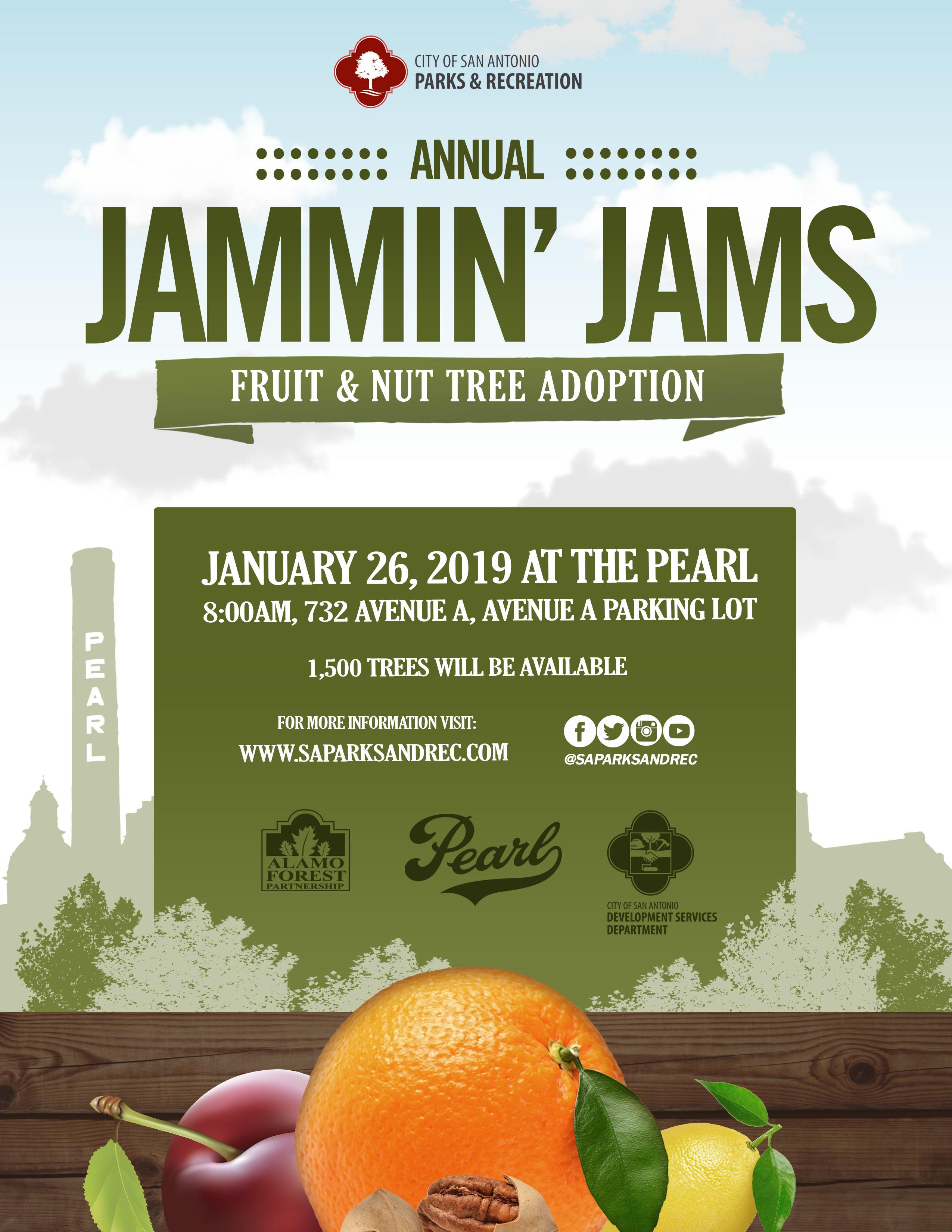 Jammin' Jams (Fruit & Nut Tree Adoption) - The City of San