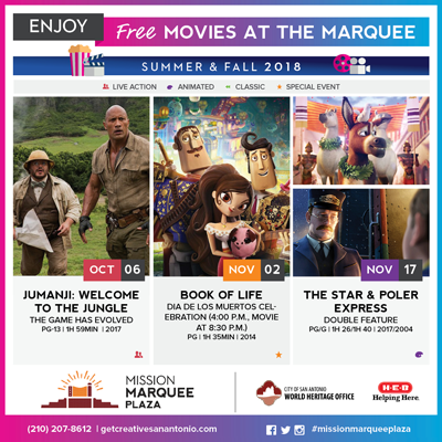 Movies at the Marquee: Jumanji: Welcome to the Jungle - The