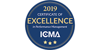ICMA Certificate of Excellence