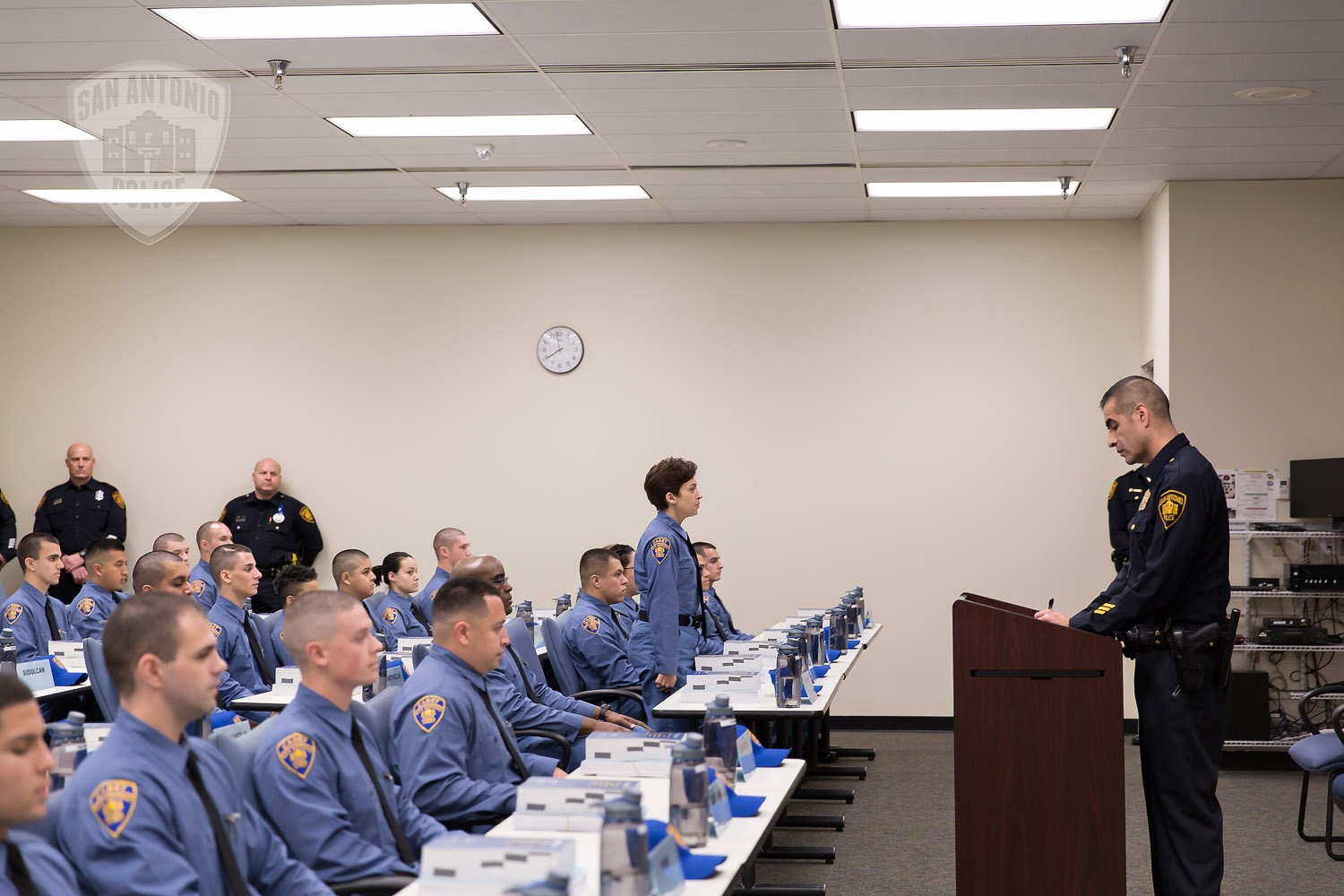 San Antonio Police Academy Welcomes First Cadet Class Of