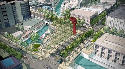City design center for Design in the city