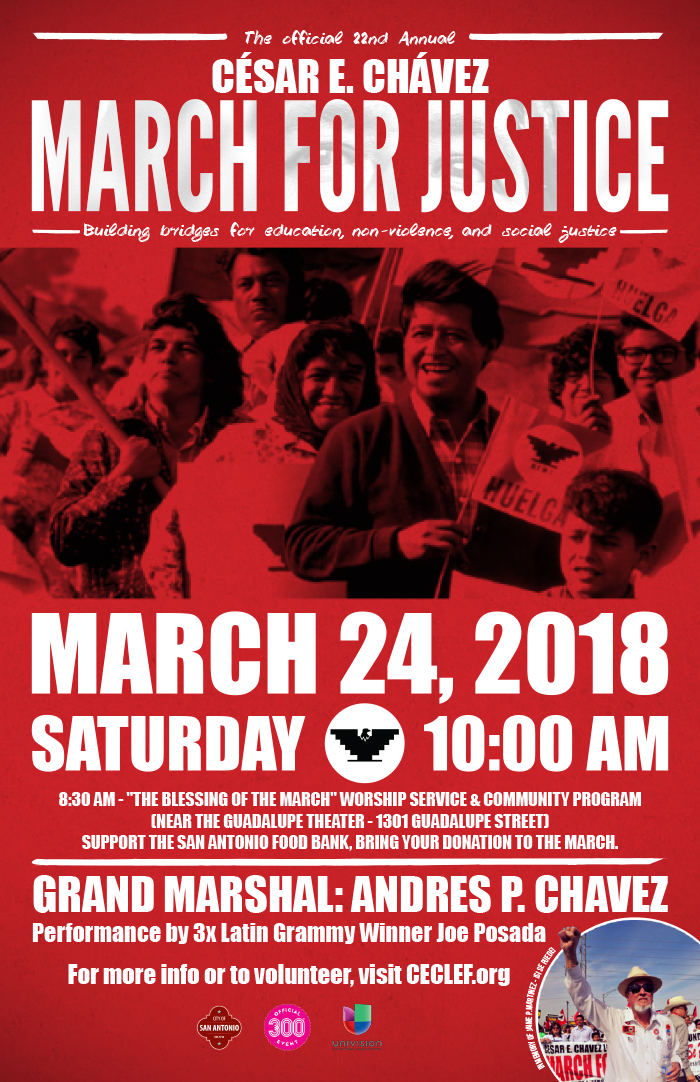 Cesar Chavez March For Justice