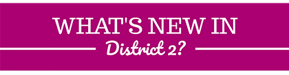 District 2 Newsletter header