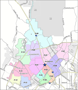 Prue Substation Service Area