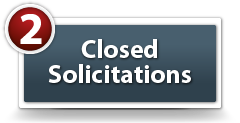 Solicitations that have closed within the last 120 days may be found on this page. All columns may be sorted simply by clicking on any Column Heading. By clicking on the name of the solicitation in the Description column, the Solicitation Synopsis will be shown.