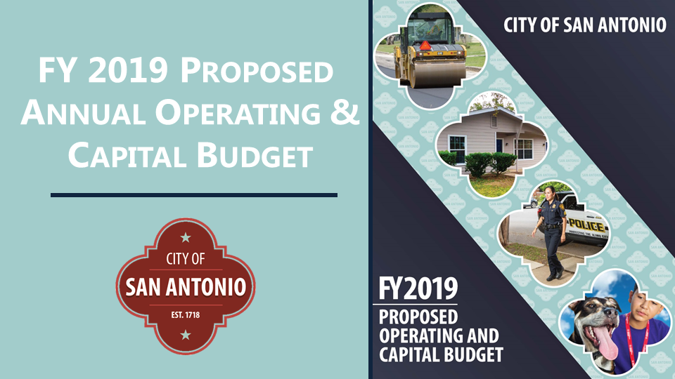 FY 2019 Proposed Annual Operating & Capital Budget
